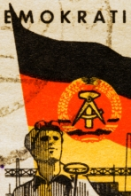 Stamp from DDR (east-germany) -